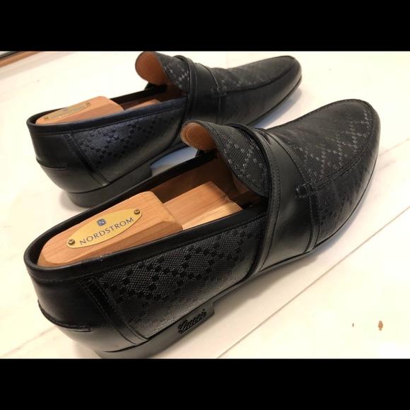 2cbcdc2b5e5 Gucci Shoes | Loafers Mens Anderson Diamante Leather | Poshmark